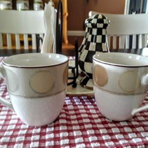 Ambience Mocha Jave Noritake Cups